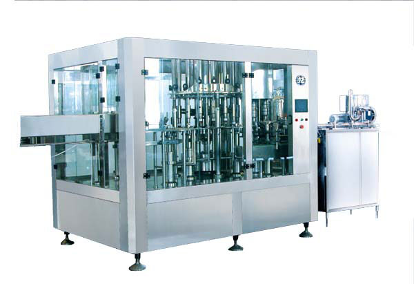 JR16-16-5R 3000B/H Washing Filling Capping Machine (3-in-1)