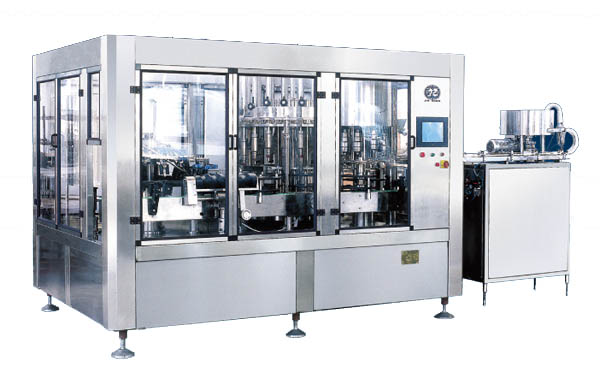 JR24-24-8R 6500B/H Washing Filling Capping Machine (3-in-1)
