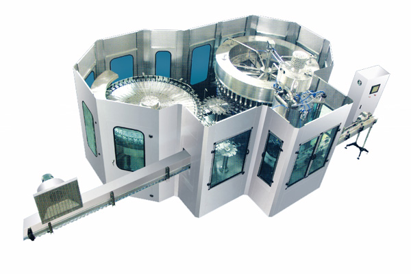 JR50-50-12R 18000B/H Washing Filling Capping Machine (3-in-1)