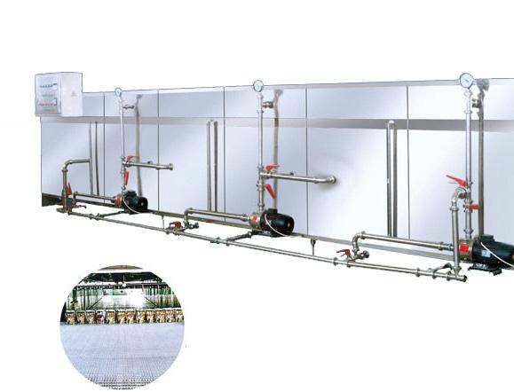 Spraying Sterilization Cooling Machine