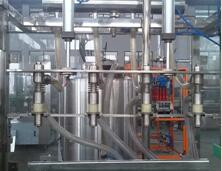 china milk and juice aseptic carton filling machine from shanghai