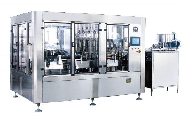 rinsing-filling-capping 3 in 1 water filling machine for pure water