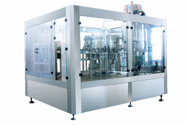 liquid filling machine .. inline filling system .. for sale .. used