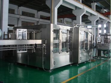 3 in 1 rinsing-filling-capping mono-block machines agf series