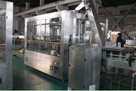 soda water automatic filling and capping machine pet / glass